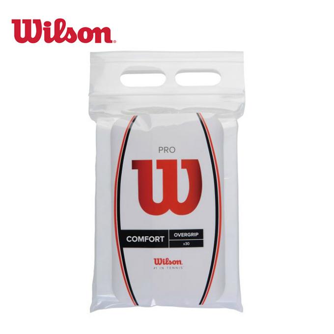 ウィルソン ラッピング無料 テニス グリップテープ プロオーバーグリップ 30本入り OVERGRIP Wilson 30PK 高級品 PRO WRZ4023