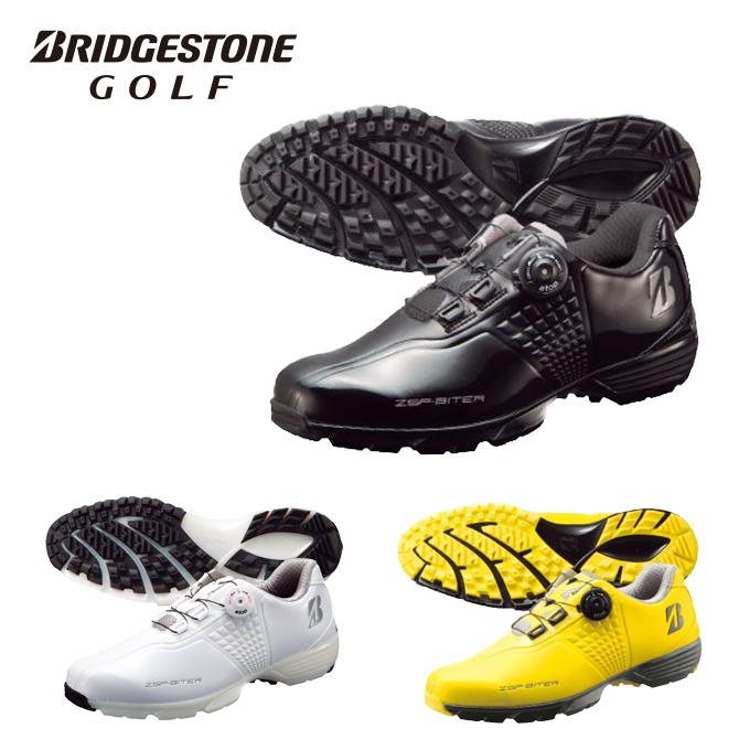 ブリヂストンゴルフ BRIDGESTONE GOLF ゴルフシューズ スパイクレス ゼロ・スパイク バイター ツアー メンズ SHG650