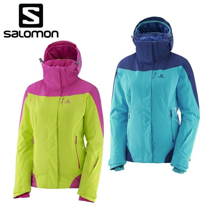 サロモン salomon スキーウェア ジャケット レディース ICEROCKET JKT W アイスロケットジャケット S-ICEROCKET JK W