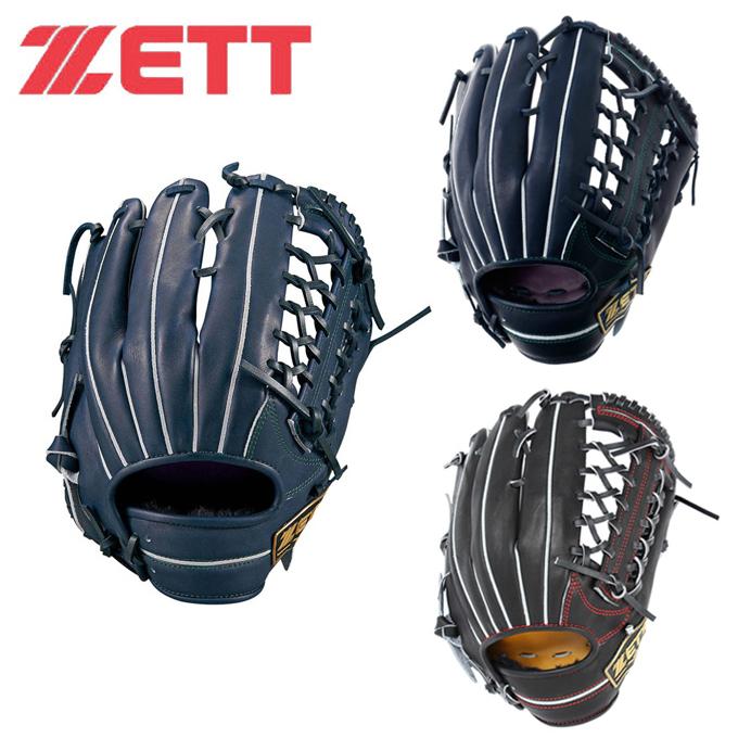 ゼット ZETT 野球 一般軟式グラブ 外野手用 メンズ レディース 軟式グラブ ネオステイタス 外野手 BRGB31817