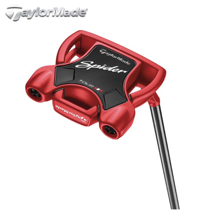 テーラーメイド TaylorMade ゴルフクラブ メンズ パター Spider TOUR RED SMALL SLANT スパイダーツアー レッド スモールスラント