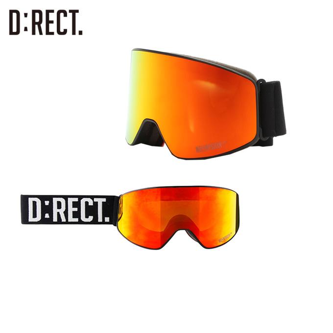 ディレクト D:RECT スキー・スノーボードゴーグル メンズ レディース ピアス DN6-R PIERCE