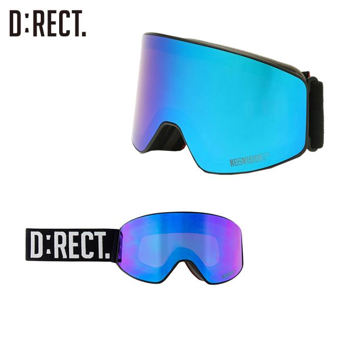 ディレクト D:RECT スキー・スノーボードゴーグル メンズ レディース ピアス DN6-B PIERCE