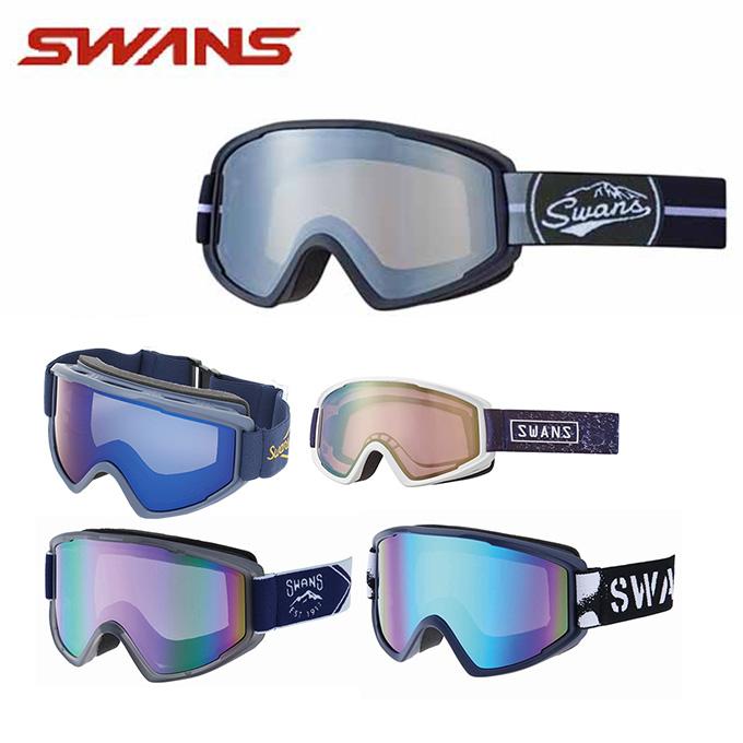 【ウインターアクセサリクーポンで10%OFF 12/19 20:00~12/26 1:59】 スワンズ スキー スノーボード メンズ レディース スノーゴーグル 100-MDH SWANS スキーゴーグル ボードゴーグル