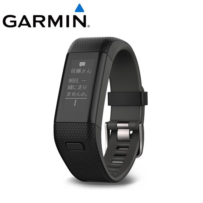 ガーミン GARMIN ランニング 腕時計 メンズ vivosmart J HR+ ビボスマート 010-01955-63