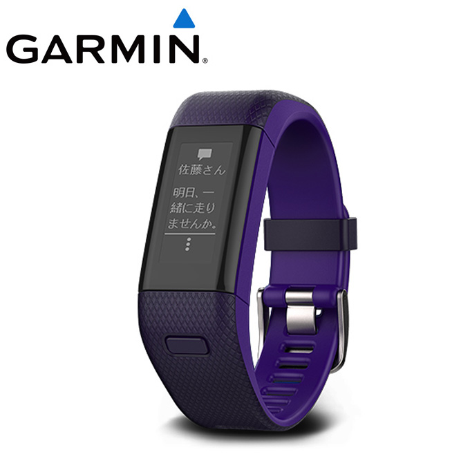 ガーミン ランニングウォッチ vivosmart J HR+ ビボスマート 010-01955-65 GARMIN