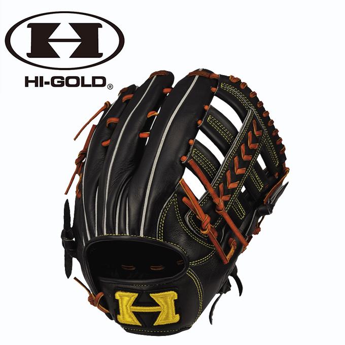 ハイゴールド HI-GOLD 野球 一般軟式グラブ 外野手用 己極 おのれきわめ シリーズ OKG-6818