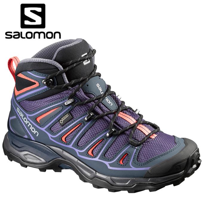 サロモン salomon トレッキングシューズ ゴアテックス ミッドカット レディース L/Xウルトラミッド2GTX L39039900