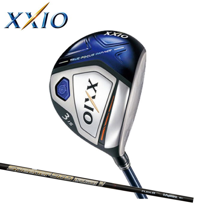 ゼクシオ XXIO ゴルフクラブ フェアウェイウッド メンズ ゼクシオ テン フェアウェイウッド カスタムシャフト XXIO 10 Speeder 569 EVOLUTION IV