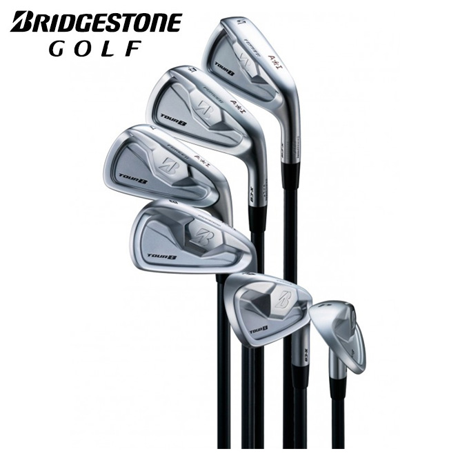 ブリヂストンゴルフ BRIDGESTONE GOLF ゴルフクラブ アイアンセット 6本組 メンズ TOUR B Ai54 Limited TOUR B X-CB ツアービー AIHB6I