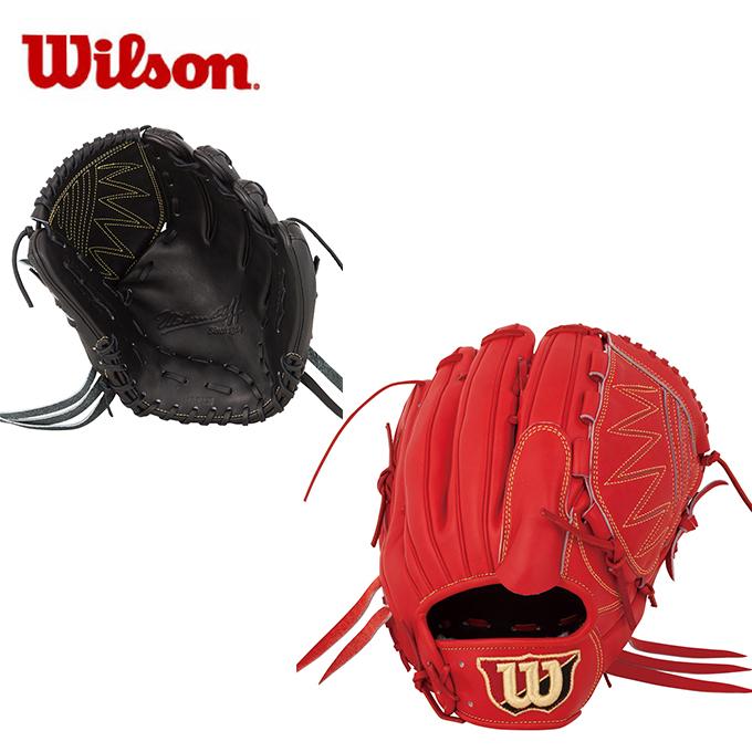 【5/5はクーポンで1000円引&エントリーかつカード利用で5倍】 ウイルソン Wilson 野球 硬式グラブ 投手用 メンズ 硬式用 ウイルソンスタッフDUALデュアル投手用 WTAHWRD1B