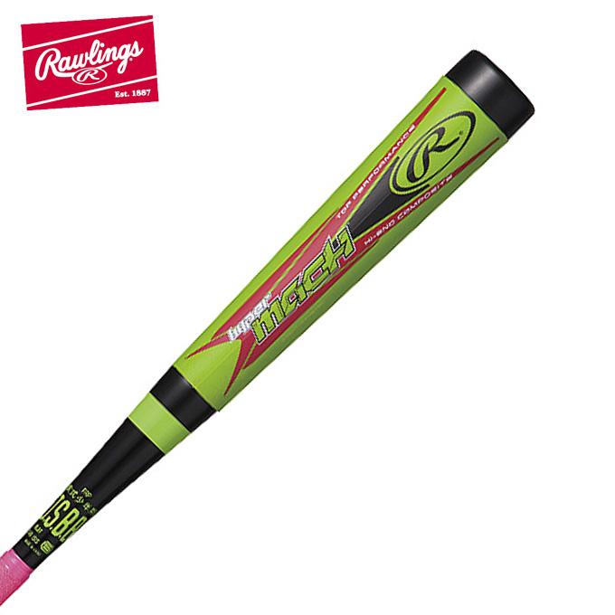 ローリングス Rawlings 野球 少年軟式バット ジュニア軟式用 ジュニア HYPER MACH ハッピー マッハ トップバランス BJ8HYMAT