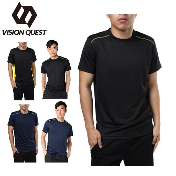 スポーツウェア 半袖Tシャツ メンズ RUNTシャツ VQ561002H01 ビジョンクエスト VISION QUEST