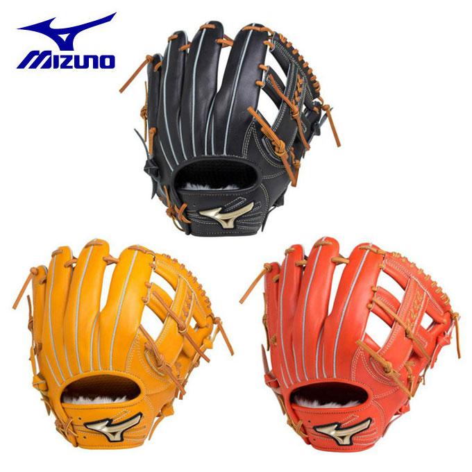 ミズノ MIZUNO 野球 一般軟式グラブ 内野手用 軟式用 グローバルエリート Hselection02 1AJGR18313