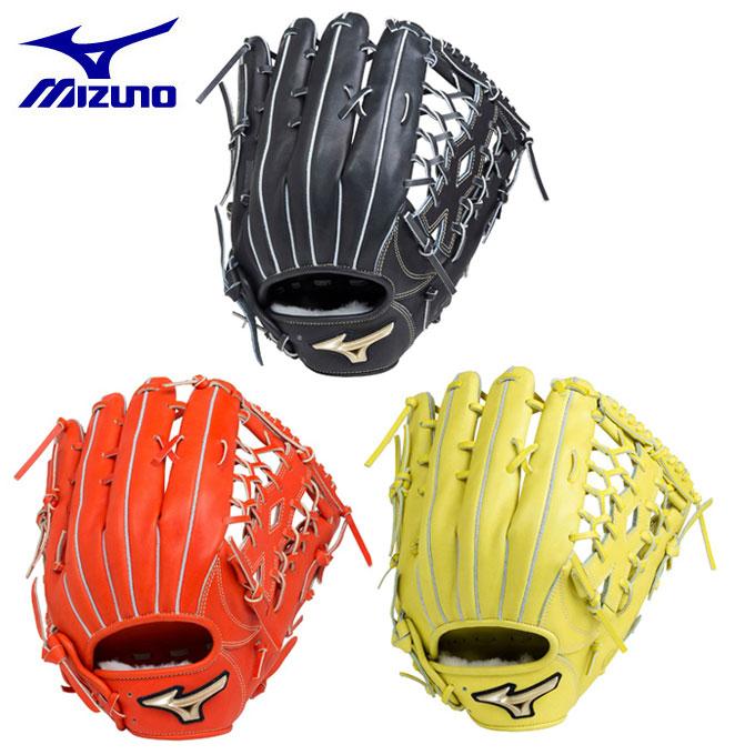 ミズノ MIZUNO 野球 硬式グラブ 外野手用 硬式用 グローバルエリート Hselection01 外野手用 1AJGH18207