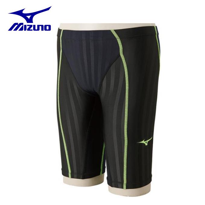 ミズノ FINA承認 競泳水着 ハーフスパッツ メンズ FX-SONIC ハーフスパッツ メンズ N2MB8030-92 mizuno スイムウェア 水着
