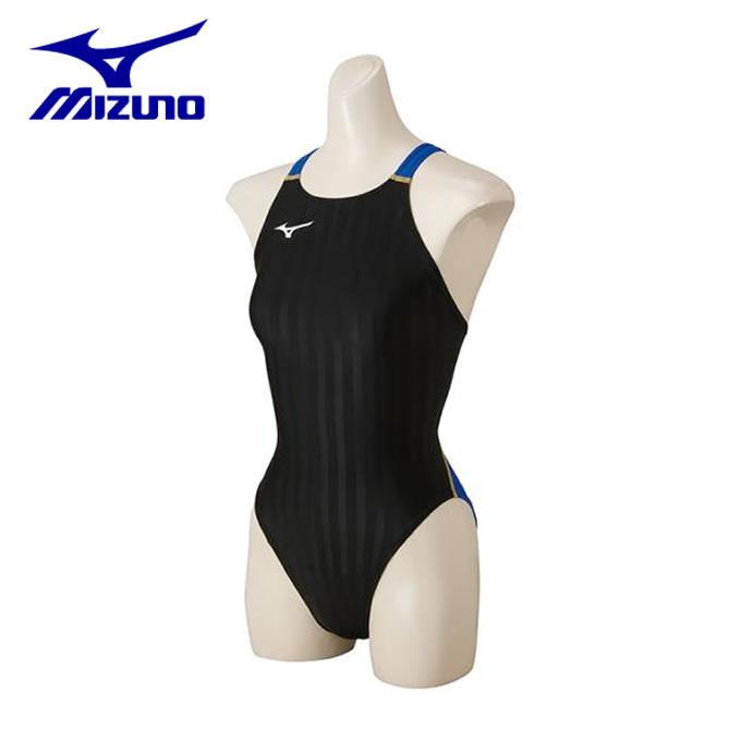 【店頭受取不可商品】ミズノ FINA承認 競泳水着 レディース ストリームアクセラ ミディアムカット N2MA822692 mizuno