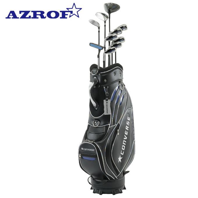 アズロフ AZROF 左用ゴルフセットクラブ メンズ CONVERSE×AZROF セットAZC-7047 M-SET 2x6+UT+PT+CB LH