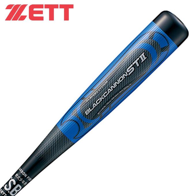 ゼット ZETT 野球 少年軟式バット ジュニア BLACKCANNON ST 2 ブラックキャノン ST 2 BCT71876 1900