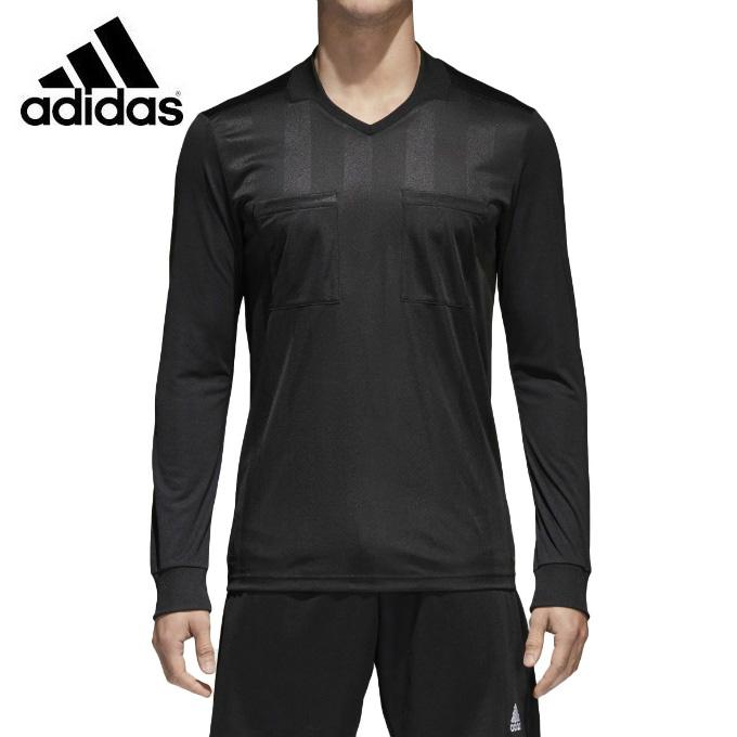 アディダス adidas サッカーウェア メンズ レフリーウェア 2018 レフェリージャージー 長袖 CF6215 EBR16