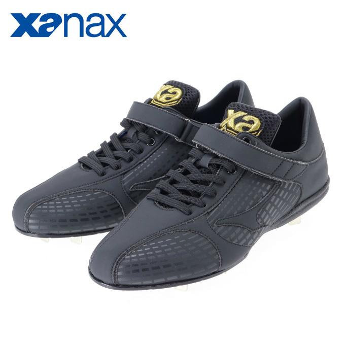 ザナックス XANAX 野球 金歯スパイク メンズ 樹脂底スパイク トラストシリーズ ローカット BS-610AL
