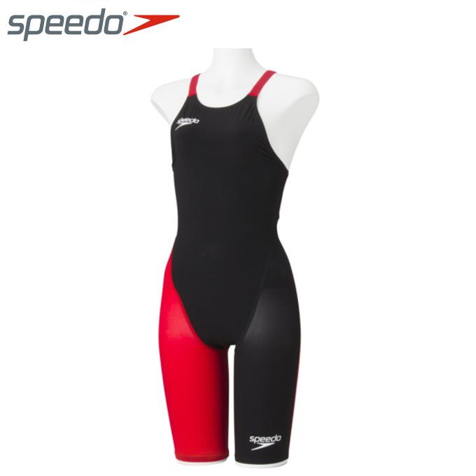 【店頭受取不可商品】スピード FINA承認 競泳水着 ハーフスパッツ レディース FASTSKIN FS-PRO2 ニースキン SD48H06 speedo