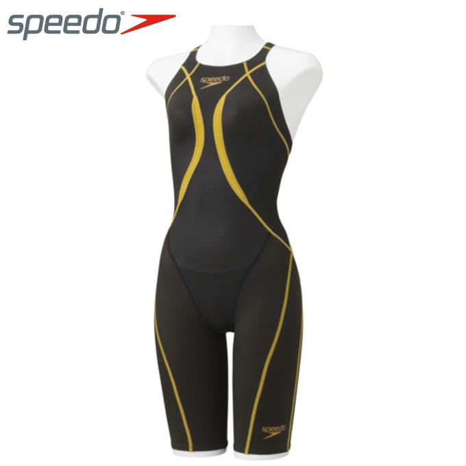 【店頭受取不可商品】スピード FINA承認 競泳水着 ハーフスパッツ レディース Fastskin XT Active Hybrid2 ニースキン アクティブ ハイブリッド SD48H02 speedo