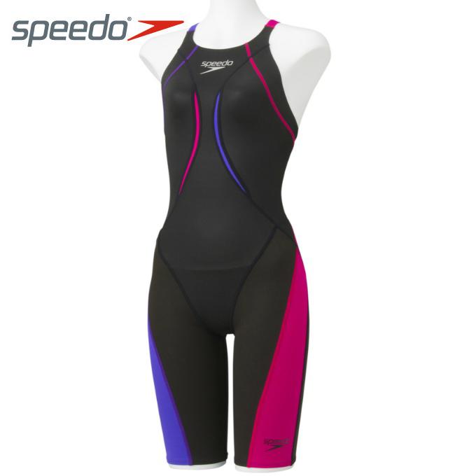 【クーポン利用で1,000円引 7/29 0:00~8/1 23:59】 スピード speedo FINA承認 競泳水着 ジュニア Fastskin XT Active Hybrid2ニースキン SD38H02