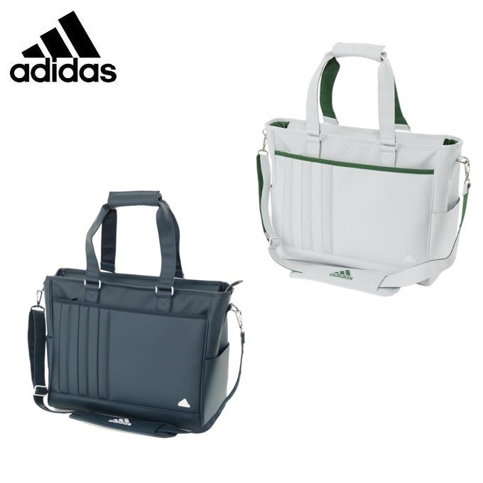 アディダス ゴルフ ボストンバッグ メンズ パンチングPUトートバッグ AWU37 adidas