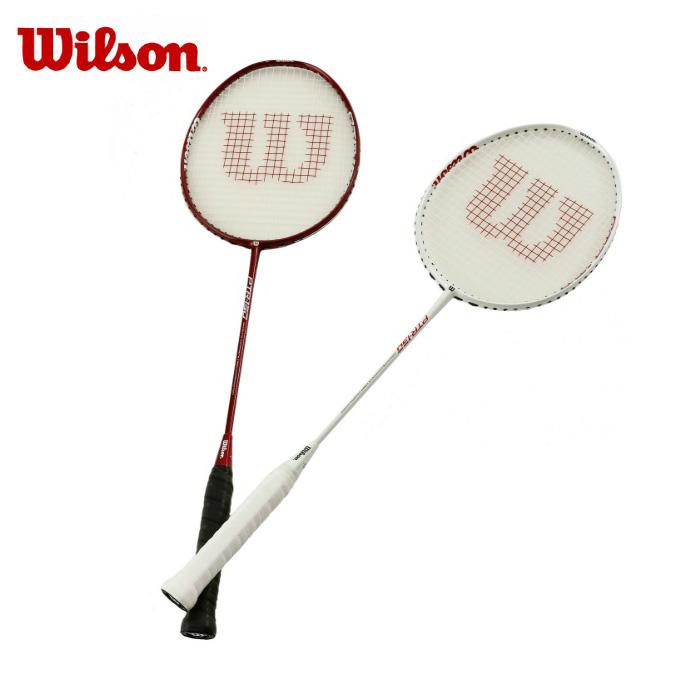 ウイルソン Wilson バドミントンラケット 張り上げ済み メンズ レディース パフォーマンストレーニングラケット PTR130 & PTR150 SET WRT8803062
