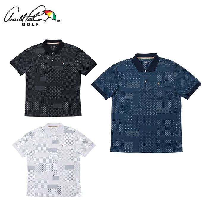 アーノルドパーマー arnold palmer ゴルフウェア ポロシャツ 半袖 メンズ