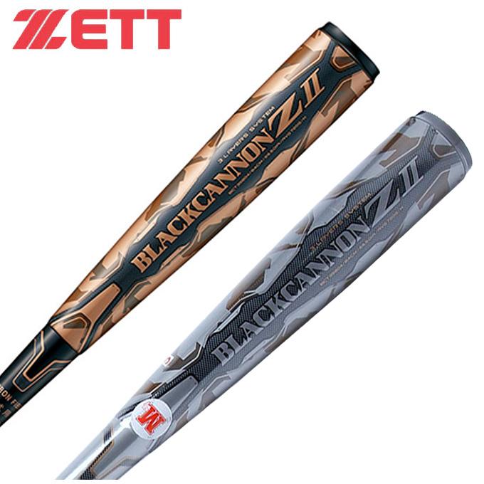 ゼット 野球 一般 軟式バット ブラックキャノン Z2 BCT35804 1900 ZETT