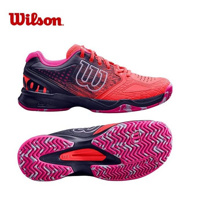 ウィルソン テニスシューズ オールコート レディース KAOS COMP ケイオス コンプ WRS323920 Wilson