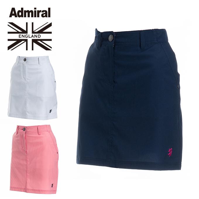 アドミラル Admiral ゴルフウェア スカート レディース ベーシックスカート ADLA843