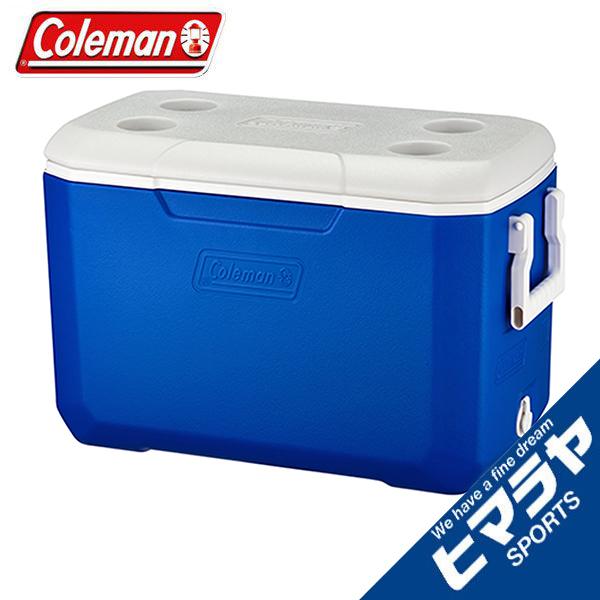 おすすめ 店頭受取対応商品 コールマン クーラーボックス 45L Coleman ブルー 2000033007 大注目 ポリライト48QT