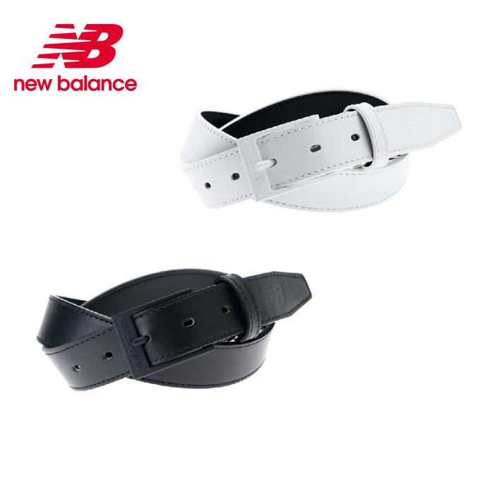 ニューバランス ゴルフ ベルト レディース スムースレザーベルト 012-8182500 new balance