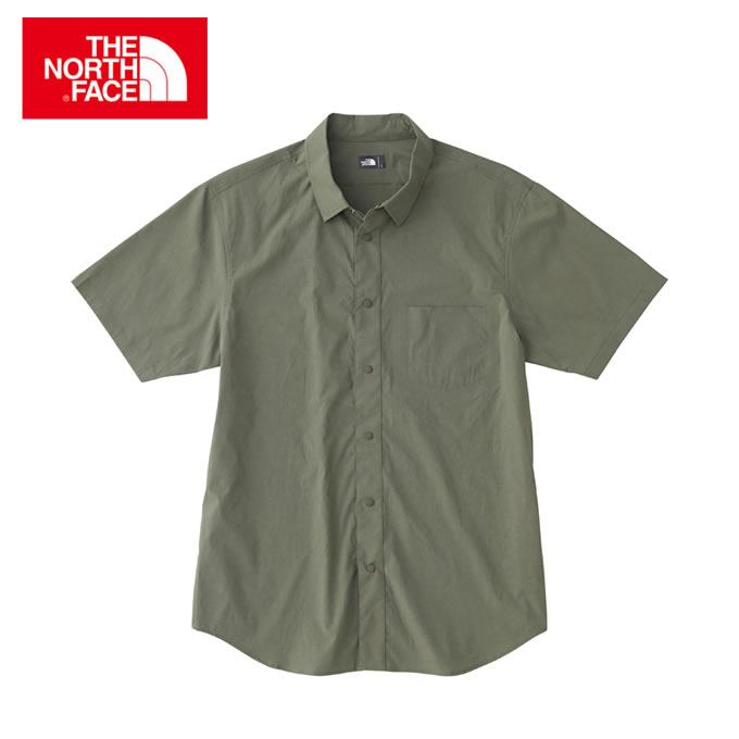 【店頭受取でポイント5倍 8/10 0:00~8/16 23:59】 ノースフェイス 半袖シャツ メンズ ショートスリーブバーナルシャツ S/S Vernal Shirt NR21802 THE NORTH FACE