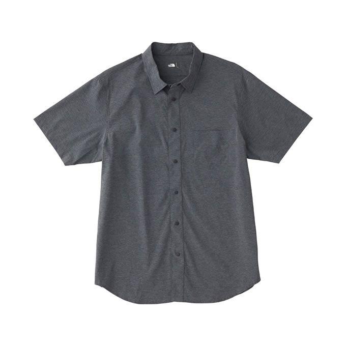 【クーポン利用で1,000円引 7/29 0:00~8/1 23:59】 ノースフェイス 半袖シャツ メンズ ショートスリーブバーナルシャツ S/S Vernal Shirt NR21802 THE NORTH FACE