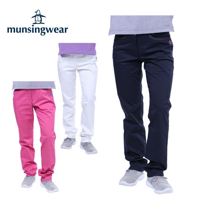 マンシング Munsingwear ゴルフウェア ロングパンツ レディース ツイルストレッチ MGWLJD02CH