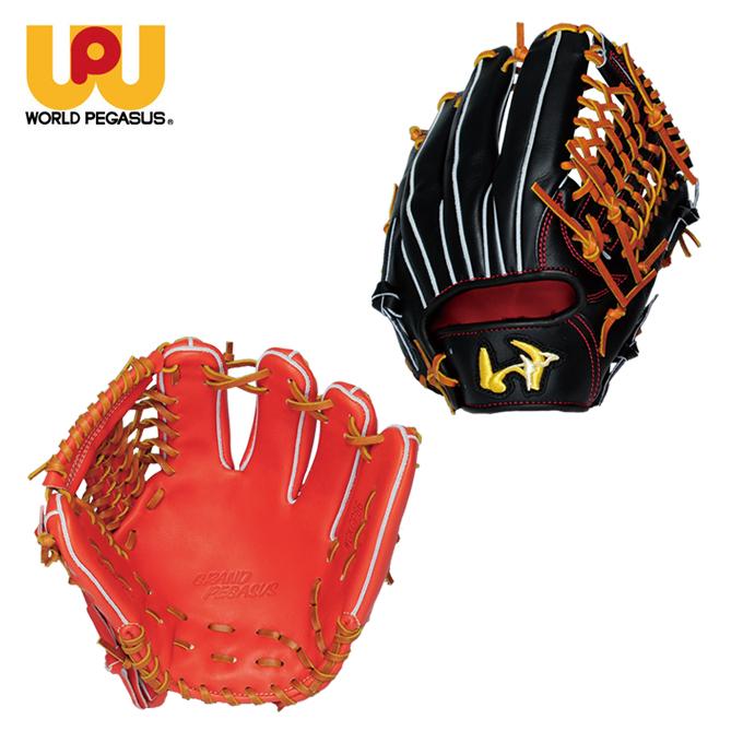 ワールドペガサス WORLDPEGASUS 野球 硬式グラブ 内野手用 メンズ 硬式 グランドペガサス GLAND PEGASUS WGKGP86, LEARNER'S BOOKS 77618135