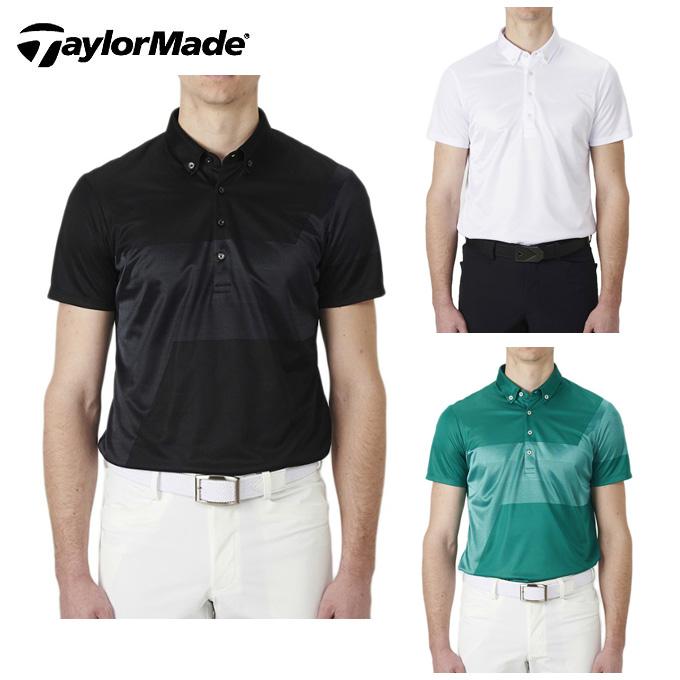 テーラーメイド TaylorMade ゴルフウェア ポロシャツ 半袖 メンズ テイラード・グラフィックジャカードS/Sポロ KL897
