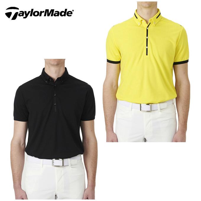 テーラーメイド TaylorMade ゴルフウェア ポロシャツ 半袖 メンズ ブレスウールボタンダウンS/Sポロ KL898
