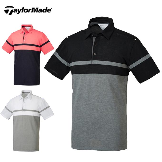 テーラーメイド TaylorMade ゴルフウェア ポロシャツ 半袖 メンズ クーリングUV S/Sポロ KL909