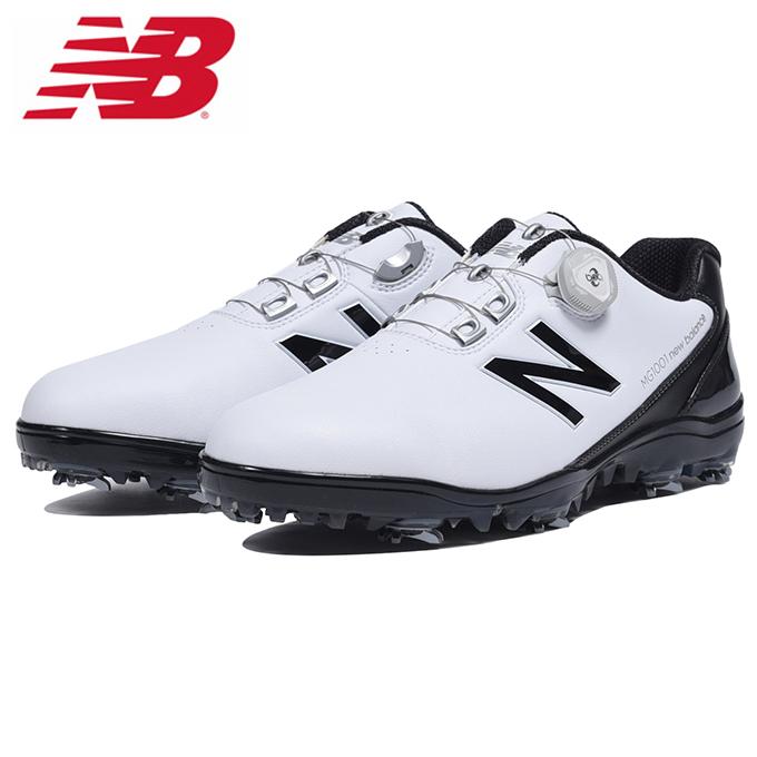 ニューバランス ゴルフシューズ ソフトスパイク メンズ MG1001WB new balance