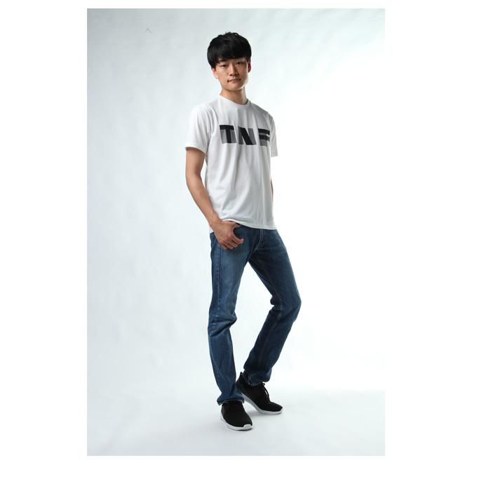 ノースフェイス Tシャツ 半袖 メンズ ヨセミテ ジオメトリー SS NT31801 THE NORTH FACE