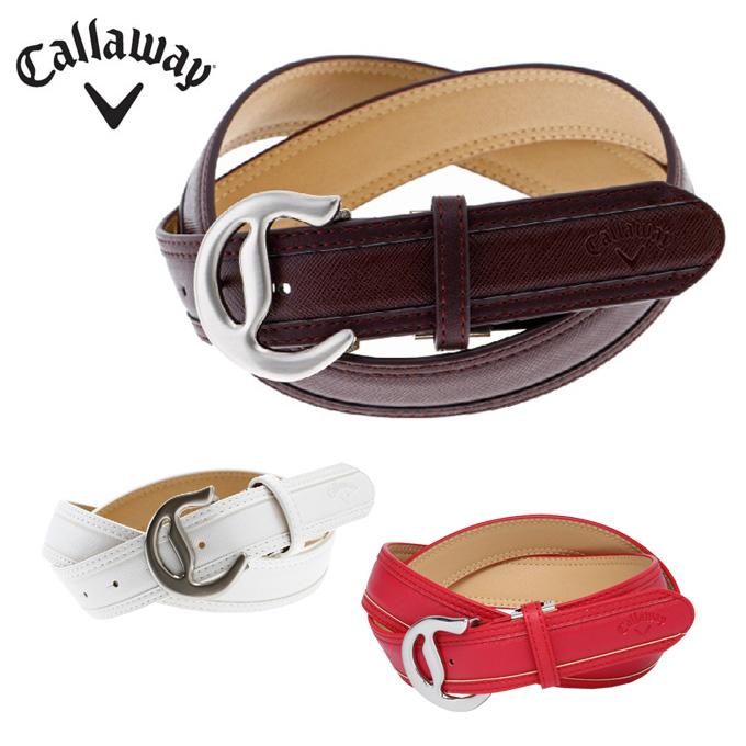 キャロウェイ ゴルフ ベルト メンズ プリズム型押しベルト 241-8182502 Callaway