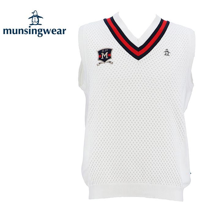 マンシング Munsingwear ゴルフウェア ベスト メンズ ニットベスト MGMLJL82