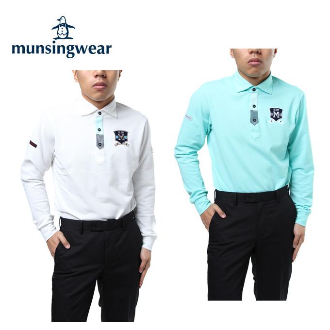 マンシング Munsingwear ゴルフウェア ポロシャツ 長袖 メンズ 長袖シャツ MGMLJB06