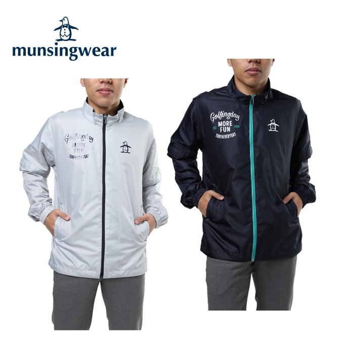 マンシング Munsingwear ゴルフウェア ブルゾン メンズ 2WAYジャケット MGMLJK01CH