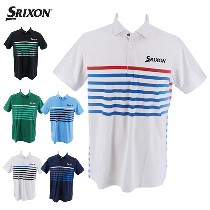 スリクソン SRIXON ゴルフウェア ポロシャツ 半袖 メンズ U.Sオープンモデル半袖シャツ RGMLJA31